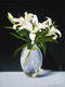 Thumbnail of Casa Blanca Lillies, a painting by Sandy Freckleton Gagon