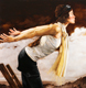 Thumbnail of She Remembered She Could Fly, a painting by Sandy Freckleton Gagon