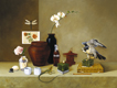 Thumbnail of Still Life with Basilisk, a painting by Sandy Freckleton Gagon