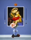 Thumbnail of Still Life with Raphael, a painting by Sandy Freckleton Gagon