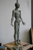 Sandy Freckleton Gagon Sculpture - Ecorche 1